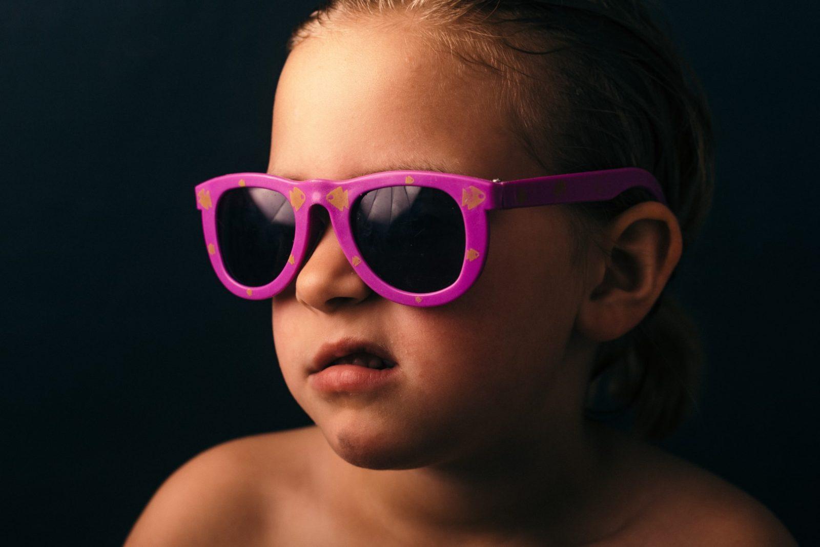 Anteojos de sol para niños
